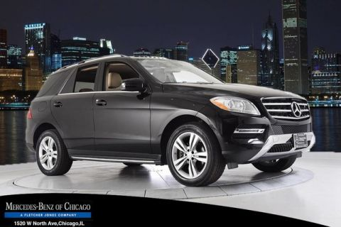 Certified Pre-Owned 2014 Mercedes-Benz M-Class ML350 4MATIC® All Wheel Drive 4MATIC SUV