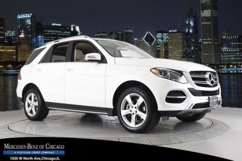 Certified Pre-Owned 2017 Mercedes-Benz GLE350 4Matic All Wheel Drive 4MATIC Sport Utility
