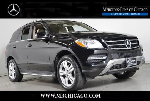Certified Pre-Owned 2015 Mercedes-Benz M-Class ML350 4MATIC All Wheel Drive SUV