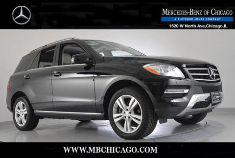 Certified Pre-Owned 2015 Mercedes-Benz M-Class ML350 4MATIC All Wheel Drive 4MATIC 4MATIC SUV