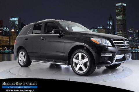 Certified Pre-Owned 2014 Mercedes-Benz M-Class ML550 4MATIC® All Wheel Drive 4MATIC SUV