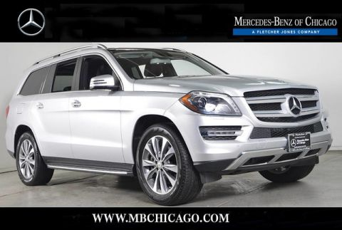 Certified Pre-Owned 2015 Mercedes-Benz GL-Class GL450 4MATIC All Wheel Drive SUV