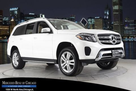 Certified Pre-Owned 2017 Mercedes-Benz GLS450 4MATIC® All Wheel Drive 4MATIC SUV