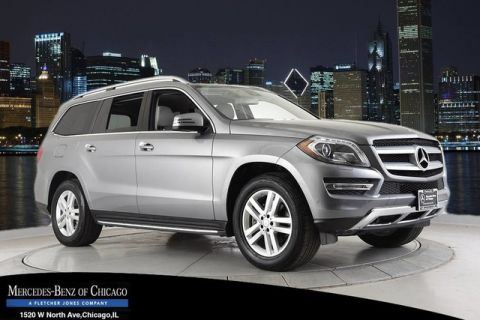 Certified Pre-Owned 2016 Mercedes-Benz GL450 4MATIC® All Wheel Drive 4MATIC SUV