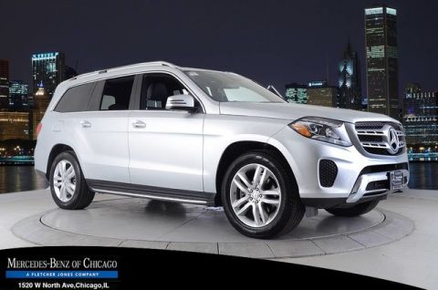 Certified Pre-Owned 2017 Mercedes-Benz GLS450 4Matic All Wheel Drive 4MATIC SUV