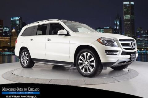 Certified Pre-Owned 2014 Mercedes-Benz GL 450 4MATIC® All Wheel Drive 4MATIC SUV
