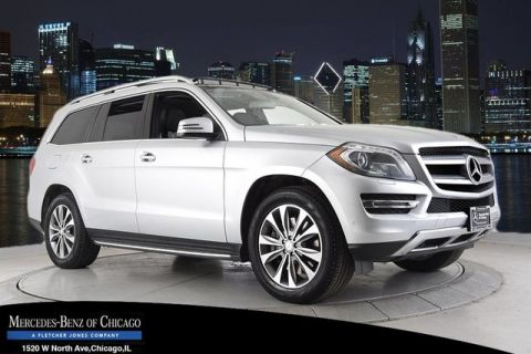 Certified Pre-Owned 2013 Mercedes-Benz GL450 4Matic All Wheel Drive 4MATIC Sport Utility