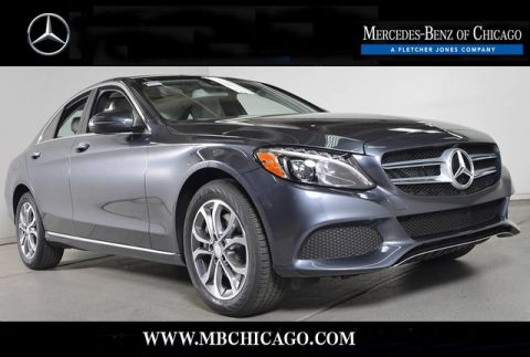 Certified Pre-Owned 2016 Mercedes-Benz C-Class C300 4MATIC® All Wheel Drive 4MATIC® 4MATIC® Sedan