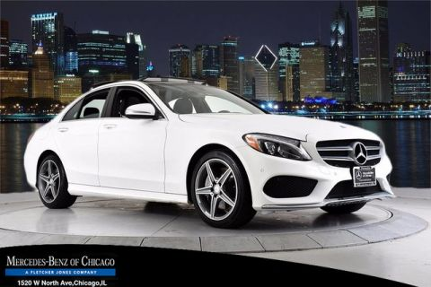 Used Mercedes-Benz C-Class C 400 MULTI MEDIA, PANO, PARKTRONIC, 18AMG®