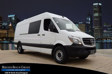 New Mercedes-Benz Sprinter Passenger Vans