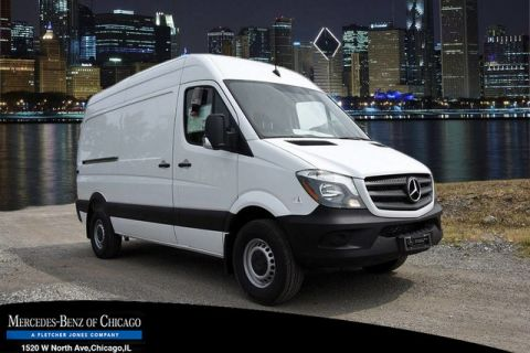 New Mercedes-Benz Sprinter Cargo Van 144 high roof