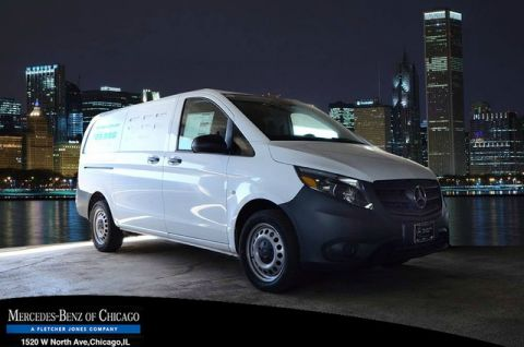 New Mercedes-Benz Metris Cargo Van Worker