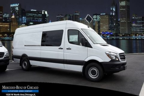 New Mercedes-Benz Sprinter Passenger Van