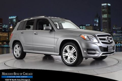 Certified Pre-Owned 2015 Mercedes-Benz GLK350 4Matic All Wheel Drive 4MATIC Sport Utility