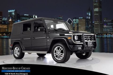 Certified Pre-Owned 2015 Mercedes-Benz G-Class G550 4MATIC®