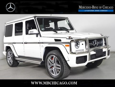 Certified Pre-Owned 2015 Mercedes-Benz G-Class G63 AMG All Wheel Drive SUV