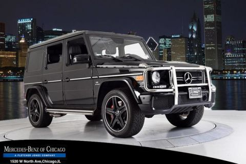 Certified Pre-Owned 2014 Mercedes-Benz G-Class G63 AMG® 4MATIC®