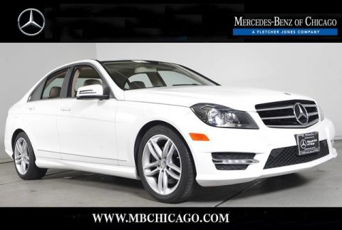 Certified Pre-Owned 2014 Mercedes-Benz C-Class C300 Sport 4MATIC All Wheel Drive Sedan