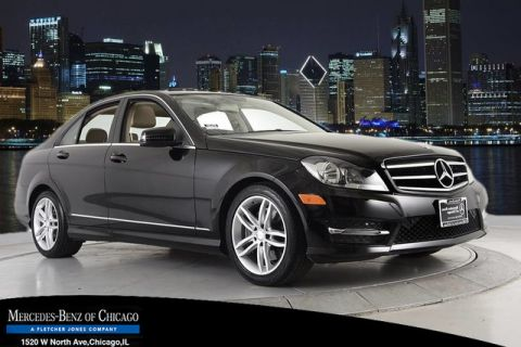 Certified Pre-Owned 2014 Mercedes-Benz C 300 Sport 4MATIC® All Wheel Drive 4MATIC Sedan