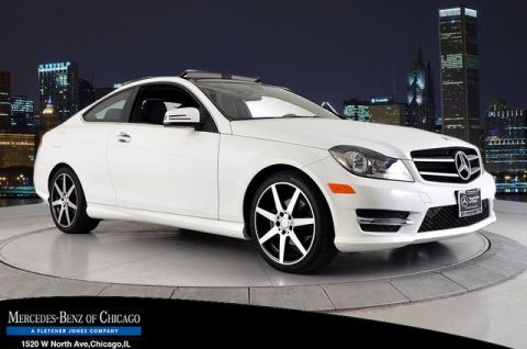 Certified Used Mercedes-Benz C-Class C 250 COUPE