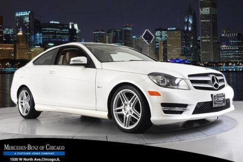 Certified Pre-Owned 2012 Mercedes-Benz C-Class C350 4MATIC® All Wheel Drive 4MATIC Coupe