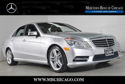 Certified Pre-Owned 2013 Mercedes-Benz E-Class E350 Sport 4MATIC® All Wheel Drive 4MATIC® 4MATIC® Sedan