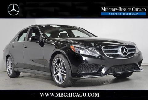 Certified Pre-Owned 2016 Mercedes-Benz E-Class E350 Sport 4MATIC All Wheel Drive Sedan