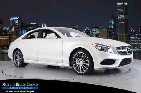 New Mercedes-Benz CLS CLS550
