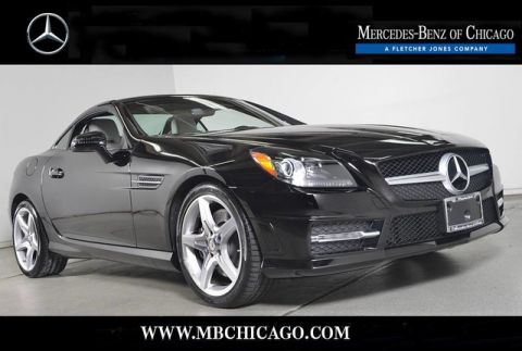 Certified Pre-Owned 2014 Mercedes-Benz SLK SLK250 Rear Wheel Drive Coupe