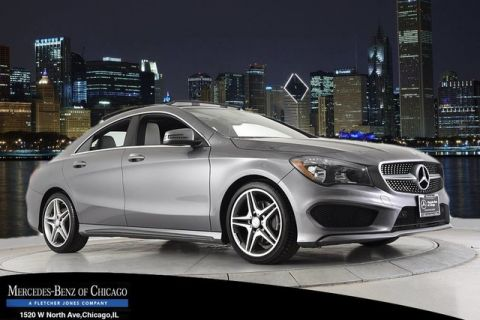 Certified Pre-Owned 2014 Mercedes-Benz CLA250 Front Wheel Drive Coupe