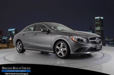 Certified Pre-Owned 2014 Mercedes-Benz CLA CLA250 Front Wheel Drive Coupe
