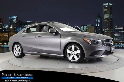 Certified Pre-Owned 2016 Mercedes-Benz CLA 250 4MATIC® All Wheel Drive 4MATIC Coupe