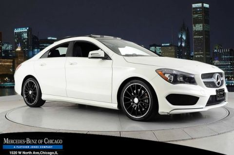 Certified Pre-Owned 2015 Mercedes-Benz CLA250 4Matic All Wheel Drive 4MATIC Coupe