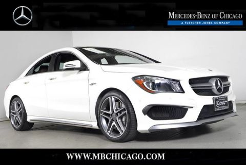 Certified Pre-Owned 2014 Mercedes-Benz CLA CLA45 AMG All Wheel Drive Coupe