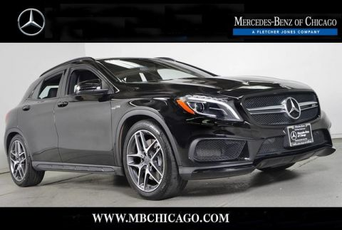 Certified Pre-Owned 2015 Mercedes-Benz GLA GLA45 AMG All Wheel Drive SUV