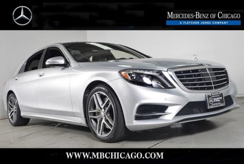 Certified Pre-Owned 2015 Mercedes-Benz S-Class S550 4MATIC® All Wheel Drive 4MATIC® 4MATIC® Sedan