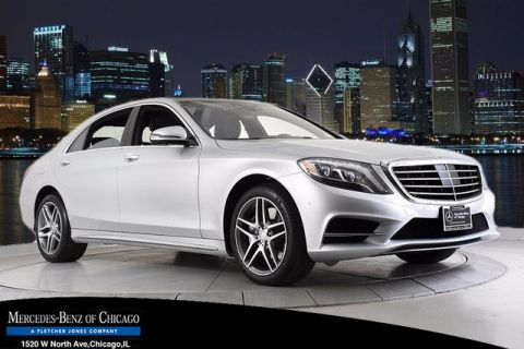 Used Mercedes-Benz S-Class S 550 4matic Sport Package