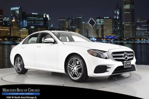 Certified Pre-Owned 2017 Mercedes-Benz E300 Sport 4Matic All Wheel Drive 4MATIC Sedan
