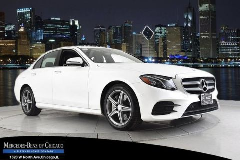 Certified Pre-Owned 2017 Mercedes-Benz E300 Sport 4Matic All Wheel Drive 4MATIC 4dr Car
