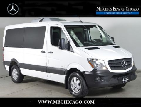 Certified Pre-Owned 2016 Mercedes-Benz Sprinter Passenger Vans Passenger Van Rear Wheel Drive Minivan/Van