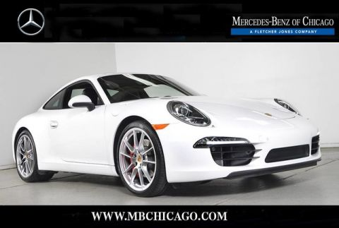 Pre-Owned 2015 Porsche 911 S Rear Wheel Drive Coupe