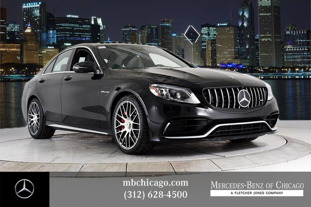 New 2019 Mercedes Benz C Class Amg C 63 S Sedan In Chicago M19128