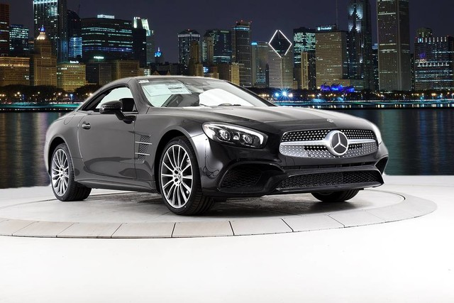 New 2020 Mercedes Benz Sl Class Sl 550 Convertible In Chicago M20515 Mercedes Benz Of Chicago
