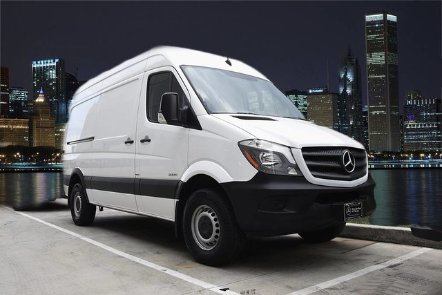 Pre owned 2016 mercedes benz sprinter cargo vans 144 high for 2016 mercedes benz sprinter extended cargo van