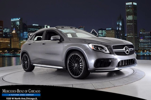 New 2018 mercedes benz gla gla 45 amg suv suv in chicago for Mercedes benz amg suv 2018