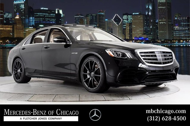 New 2019 Mercedes Benz S Class Amg S 63 Sedan In Chicago M18754