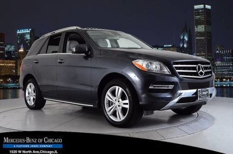Certified Pre-Owned 2015 Mercedes-Benz M-Class ML 350 All Wheel Drive 4MATIC® SUV