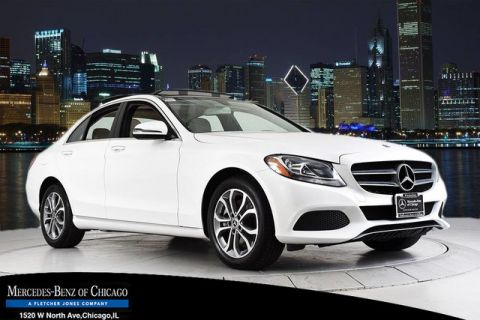 Pre-Owned 2017 Mercedes-Benz C 300 All Wheel Drive 4MATIC® Sedan