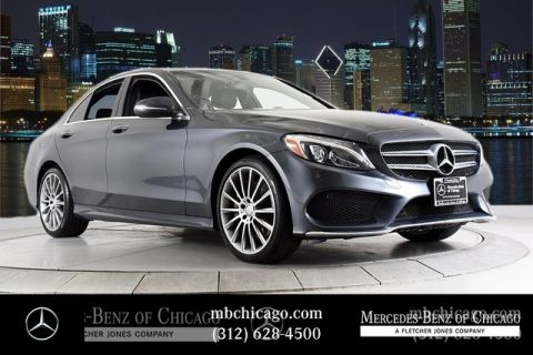 Certified Pre-Owned 2015 Mercedes-Benz C-Class C 300 Sport 19 AMG® WHEELS