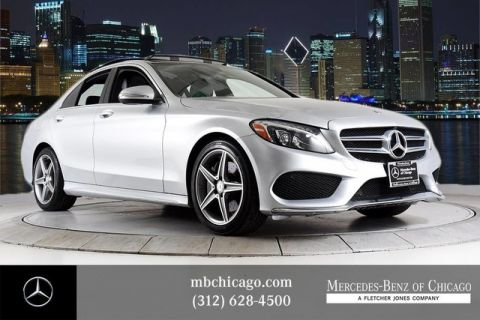 Certified Pre-Owned 2015 Mercedes-Benz C-Class C 300 Sport